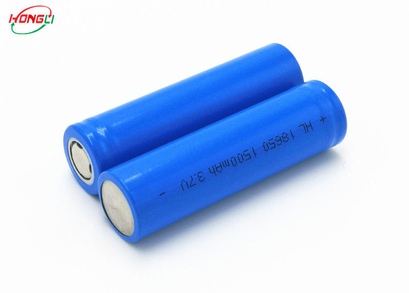 Power Bank 18650 Lithium Ion Battery Cells 3.7 V 1500mAh Short Circuit Protection