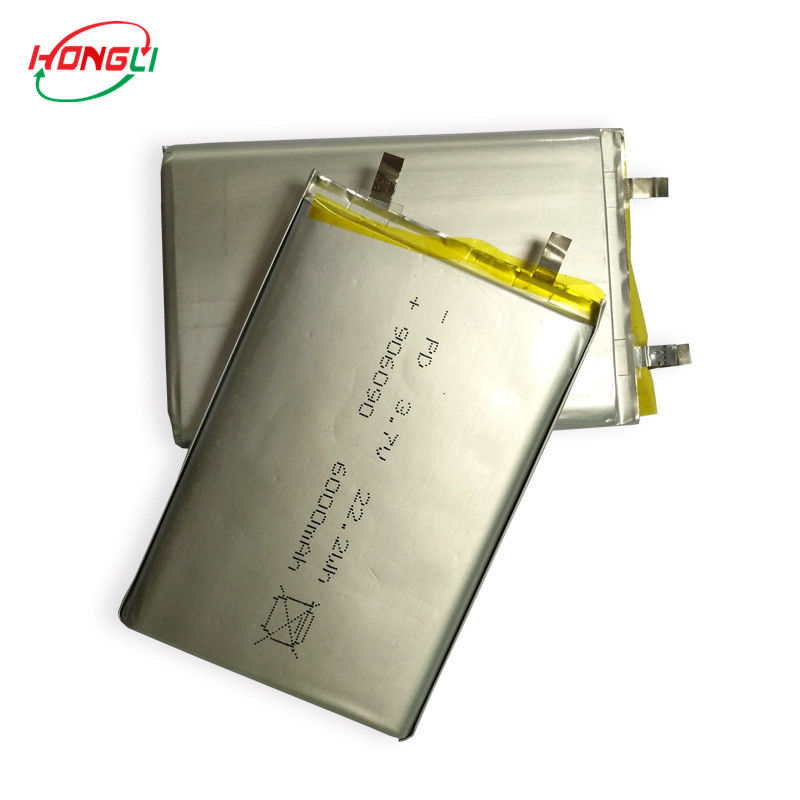 3.7v 6000mah Lithium Polymer Battery , Lithium Ion Rechargeable Battery 06090 22.2wh