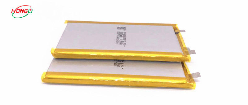 Ultra Thin Lithium Ion Polymer Rechargeable Battery 3.7 V 5000mah Strict Inspected